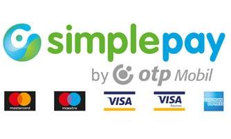 simplepay fizetési lehetőség bankkártyával